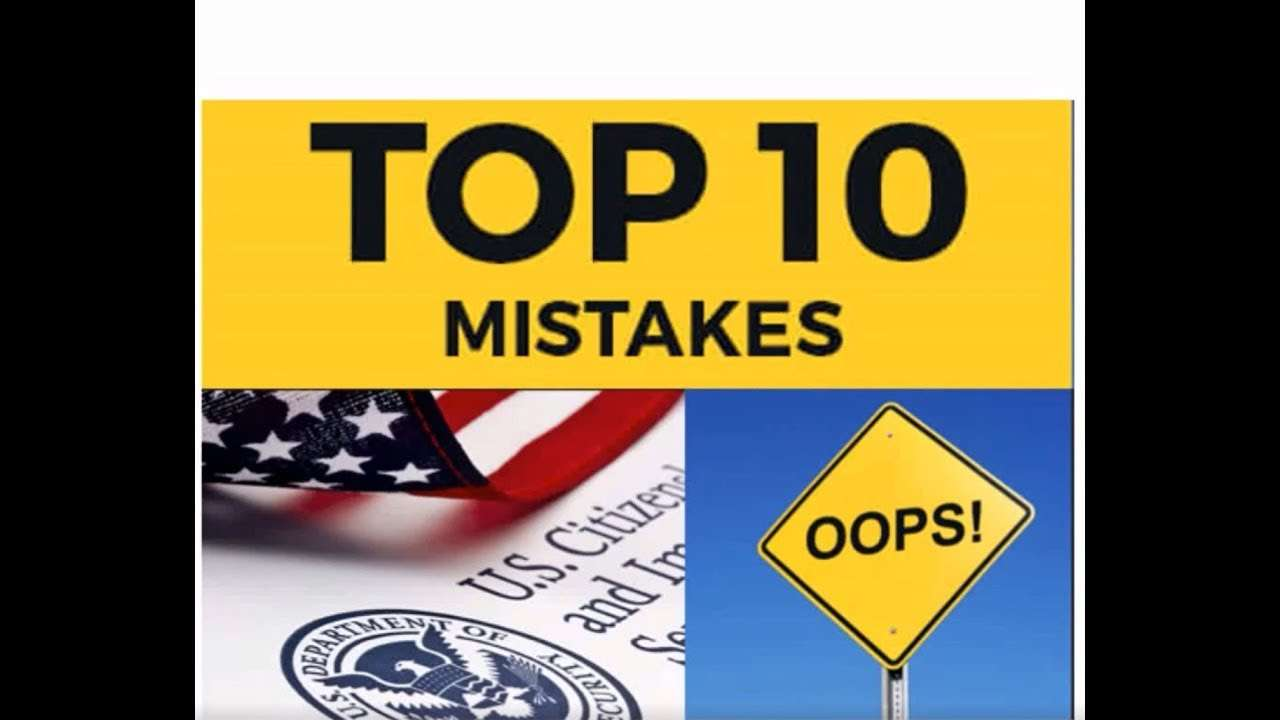 Cheap Immigration Medical Examination Mistakes
